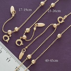 Цепь+браслет+браслет на ногу Xuping 14