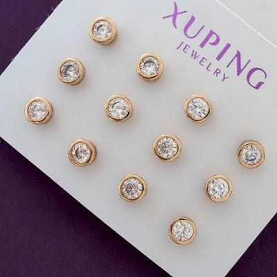 Серьги Xuping 840 6 пар