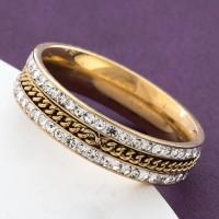 Кольцо сталь  Xuping 01