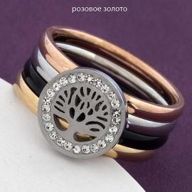 Кольцо сталь Xuping 02